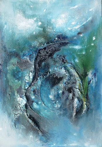 Sandra Dürr, lost & found, Abstract art