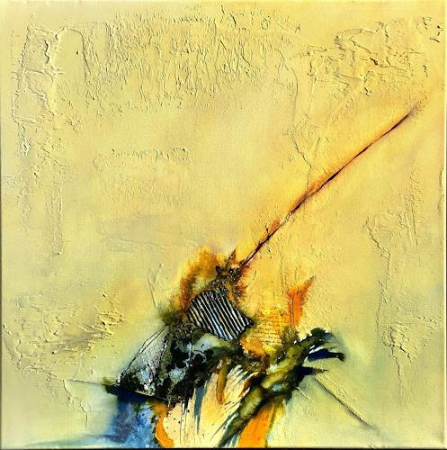 Sandra Dürr, oasis 2, Abstract art, Abstract Art