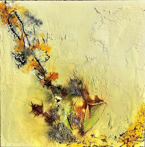 Sandra Dürr, oasis 1, Abstract art, Abstract Art