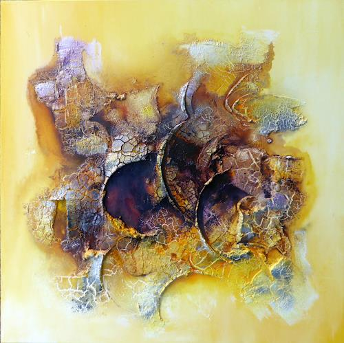 Sandra Dürr, fragile world, Abstract art, Abstract Art, Expressionism