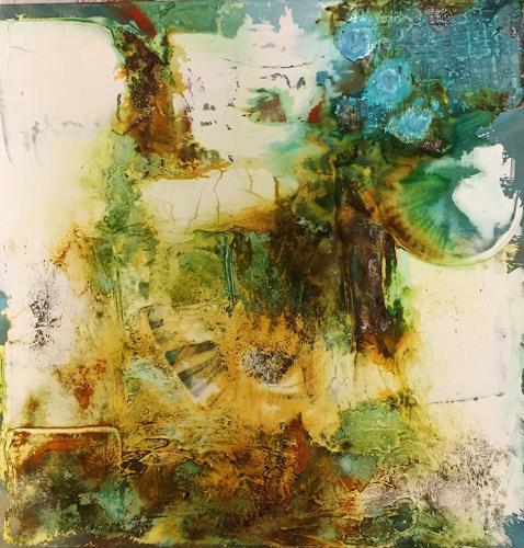 Sandra Dürr, Im wandel der Zeit, Abstract art, Abstract Art, Abstract Expressionism