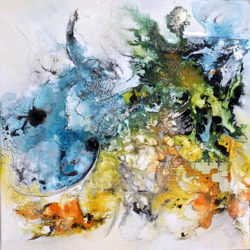 Sandra Dürr, allow, Abstract art, Abstract Art