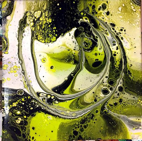 Sandra Dürr, N/T, Abstract art, Action Painting, Expressionism