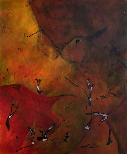 Marianne Marbach, O.T., Abstract art, Fantasy, Expressionism