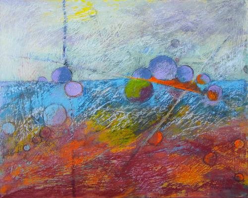 Karin Goeppert, Quantum, Abstract art, Abstract art, Contemporary Art