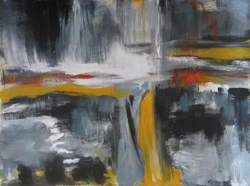 Karin Goeppert, Es passiert schon - It's already happening, Abstract art, Abstract art, Contemporary Art