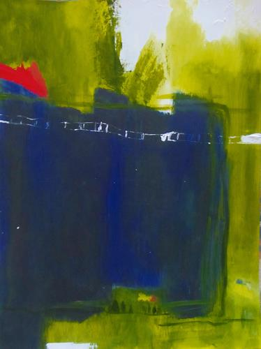 Karin Goeppert, On the Road, Abstract art, Abstract art, Contemporary Art