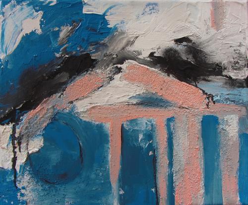 Karin Goeppert, Illusion der Ordnung - Illusion of Order, Abstract art, Abstract art, Contemporary Art