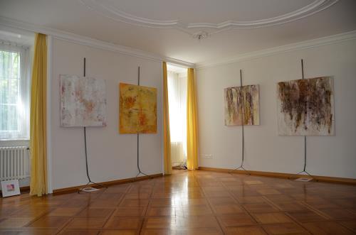 Christine Claudia Weber, Ausstellung Villa Eintracht, Abstract art