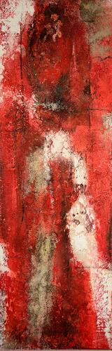 Christine Claudia Weber, Rote Serie, Abstract art, Contemporary Art