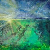 Christine-Claudia-Weber-Landscapes-Landscapes-Spring-Modern-Age-Abstract-Art