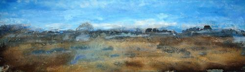 Christine Claudia Weber, Island Gezeiten, Landscapes: Sea/Ocean, Nature: Earth, Contemporary Art