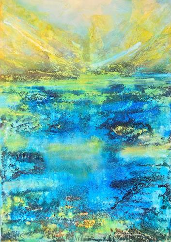 Christine Claudia Weber, Sommer, Landscapes, Nature, Contemporary Art