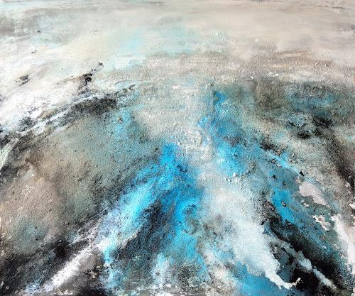 Christine Claudia Weber, OT, Landscapes: Sea/Ocean, Abstract art, Contemporary Art