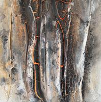 Christine-Claudia-Weber-Nature-Nature-Fire-Modern-Age-Expressionism-Abstract-Expressionism