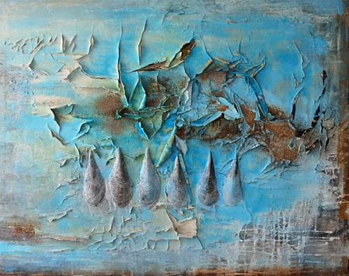 Christine Claudia Weber, Ohne Titel, Abstract art, Nature, Abstract Art, Abstract Expressionism