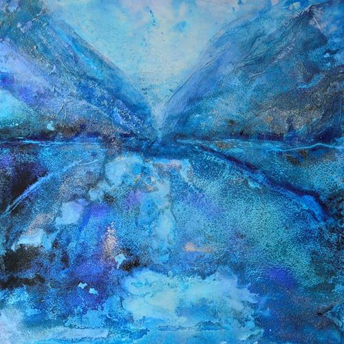 Christine Claudia Weber, Sommer-Vogel-Tal, Abstract art, Fantasy, Contemporary Art, Expressionism
