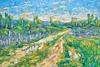 deniskujundzicart-Nature-Landscapes-Modern-Age-Impressionism-Neo-Impressionism
