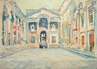 deniskujundzicart-Architecture-Religion-Modern-Age-Impressionism-Neo-Impressionism