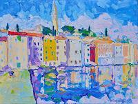 deniskujundzicart-Landscapes-Architecture-Modern-Age-Impressionism-Neo-Impressionism