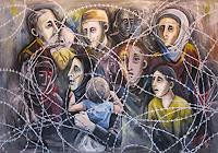 Kata Petricevic, Flüchtlinge
