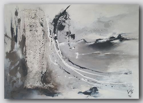 Volker Senzel, Eiszeit 2, Landscapes: Winter, Fantasy, Contemporary Art, Expressionism