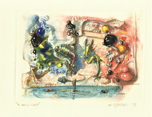 """Joachim JORI Niggemeyer, In meiner Welt"""" """"In my World, Symbol, Symbolism"""