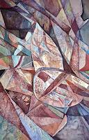 Wilhelm-Laufer-Fantasy-Nature-Rock-Modern-Age-Abstract-Art-Non-Objectivism--Informel-
