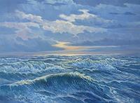 Wilhelm-Laufer-Nature-Water-Landscapes-Sea-Ocean-Contemporary-Art-Contemporary-Art