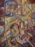 Wilhelm-Laufer-Abstract-art-Fantasy-Modern-Age-Expressive-Realism