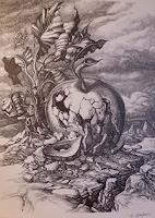 Wilhelm-Laufer-Fantasy-Nature-Rock-Contemporary-Art-Post-Surrealism