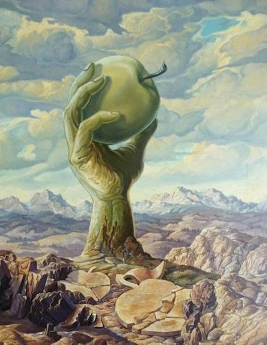 Wilhelm Laufer, Monument, Nature: Earth, Symbol, Surrealism, Abstract Expressionism