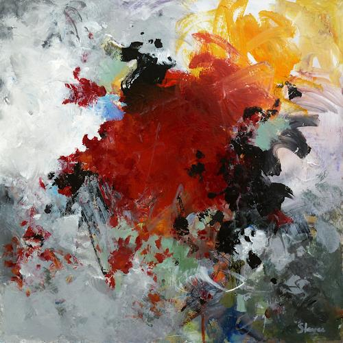 Thomas Steyer, Frontal 21, Abstract art, Emotions, Abstract Expressionism