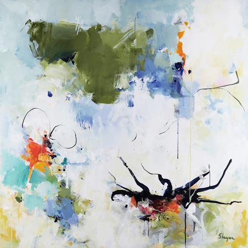 Thomas Steyer, Give And Take, Abstract art, Nature, Abstract Expressionism