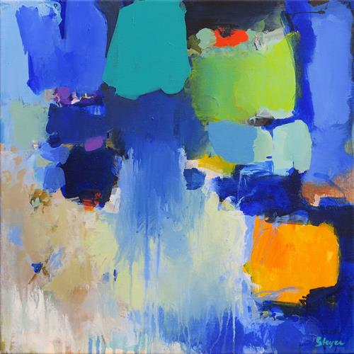 Thomas Steyer, Orderly Disarranged, Abstract art, Emotions, Abstract Expressionism, Expressionism