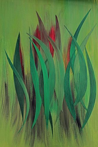 Friedhelm Raffel, Blattwerk, Plants, Impressionism