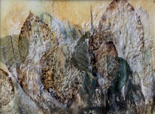 Friedhelm Raffel, Eiszeit, Fantasy, Impressionism, Expressionism