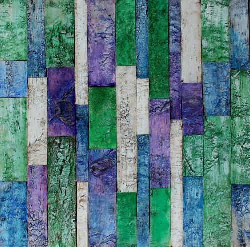 Friedhelm Raffel, Farb-Verdikalismus, Abstract art, Modern Age, Abstract Expressionism