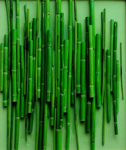 Friedhelm Raffel, Rohrflöten, Plants, Impressionism