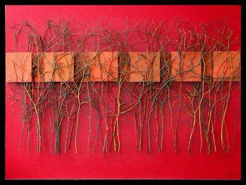 Friedhelm Raffel, Reihung, Abstract art, Abstract Art