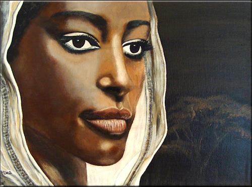 Mona Rothenpieler, Geheimnisvoll, People: Portraits, Expressionism
