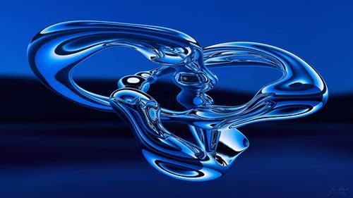 Stan Adard, Eternal Blue, Mythology, Emotions: Safety, Conceptual Art, Expressionism