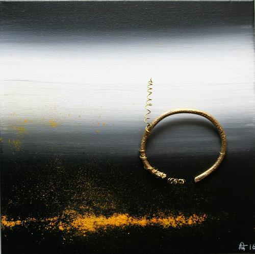 Astrid Hörr-Mann, befreit II, Abstract art, Symbol, Contemporary Art