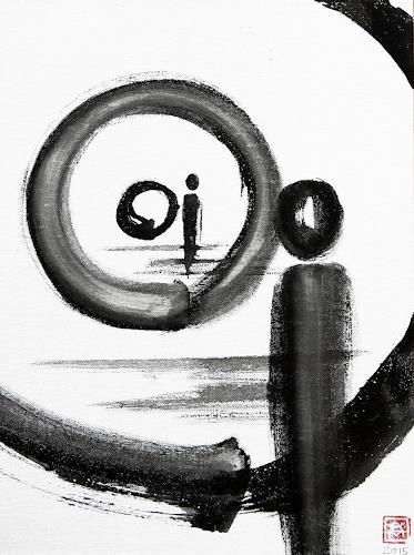 Astrid Hörr-Mann, Enso V, Symbol, Contemporary Art