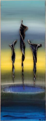 Astrid Hörr-Mann, Urklang IV, Abstract art, Symbol, Contemporary Art