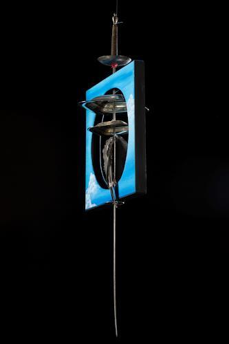 Astrid Hörr-Mann, Damoklesschwert, Burlesque, Contemporary Art