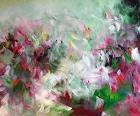 Helga Dieckmann, Wind between the Roses