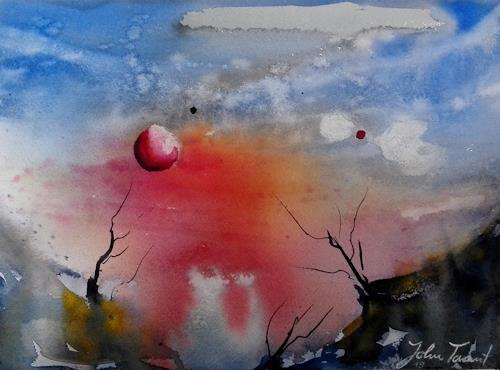 John Tarant, Fremde Welten, Outer space, Contemporary Art, Expressionism