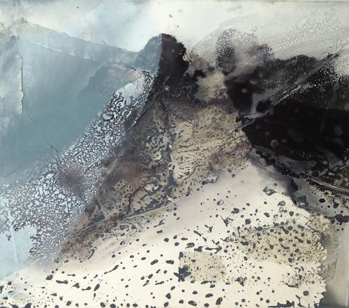 Gerhard Knolmayer, Sturm am Mont Cervin, Landscapes: Mountains, Modern Age, Expressionism