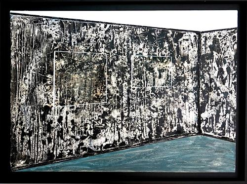 Gerhard Knolmayer, Zu Gast bei Franz West und Tamuna Sirbiladze, Architecture, Interiors: Rooms, Modern Age, Abstract Expressionism